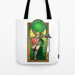 Link Hero Of Courage Tote Bag