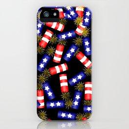 Firecracker Celebration iPhone Case