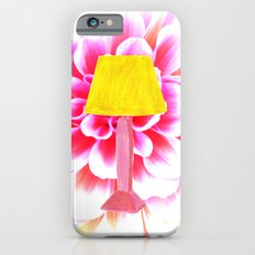 lamp shade flower illustration iPhone 6s Slim Case