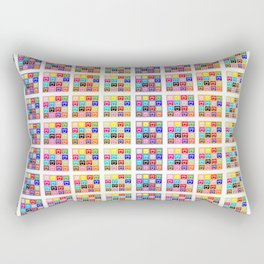 ele petti smile Rectangular Pillow
