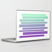 ombre Laptop & iPad Skins featuring Ombre by Miranda Williams