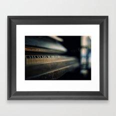 Whispers of the past Framed Art Print