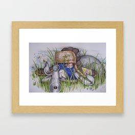 sniper bunny bob Framed Art Print