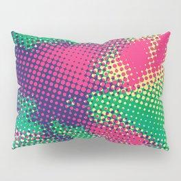 Abstract Pop Art Halftone Dots Pillow Sham