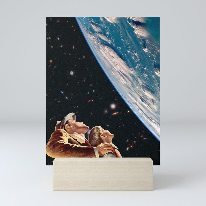 Father Son Bonding Mini Art Print