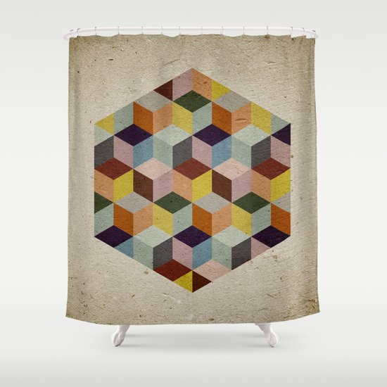 Dimension Shower Curtain