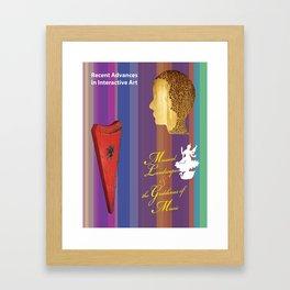Musical Landscapes and the Goddesses of Music 8 Framed Art Print