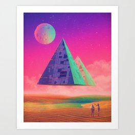 Ancient Technology Art Print