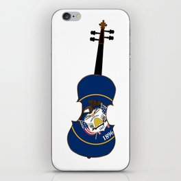 Utah State Fiddle iPhone Skin