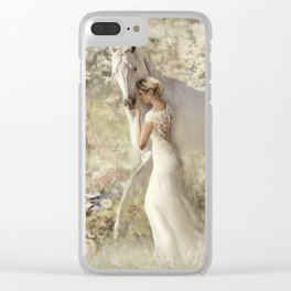 A Gentle Touch Clear iPhone Case
