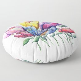 Dancing Posies Floor Pillow