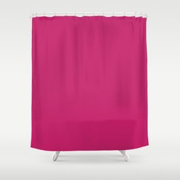 Pink Peacock Pattern Shower Curtain