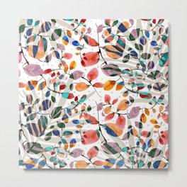Plants abstratc Metal Print