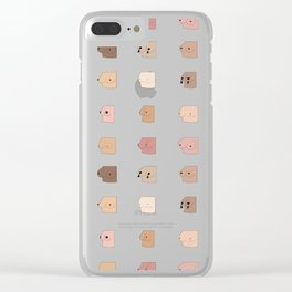 boobs Clear iPhone Case