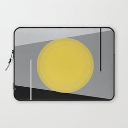 Keeping It Together - Abstract - Gray, Black, Yellow Laptop Sleeve