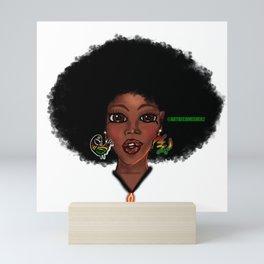 Eve - Black History Month Queen Mini Art Print