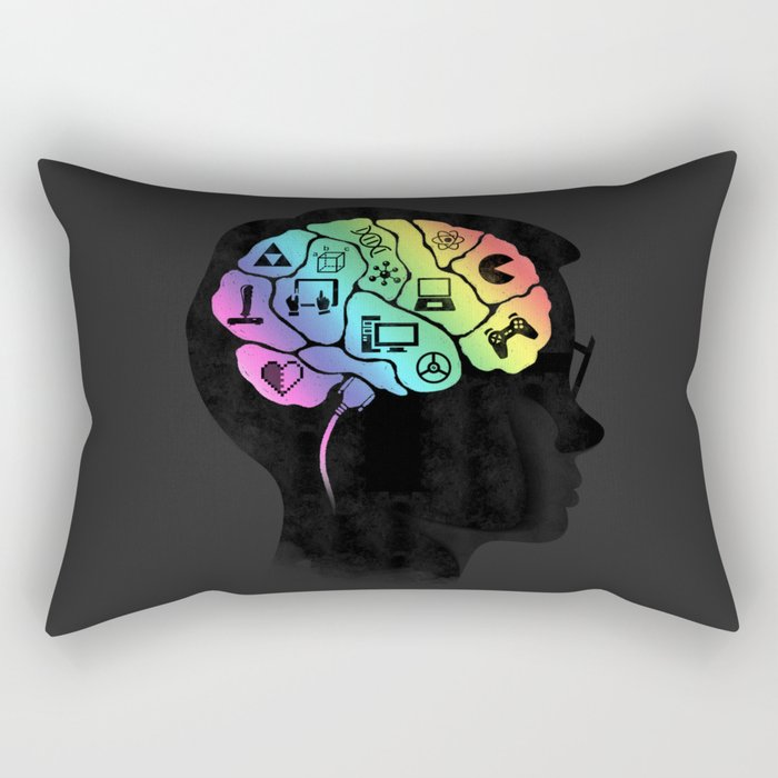 What's on your mind? Rectangular Pillow