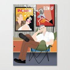 Movie Buff for Handsome Devil Press Canvas Print