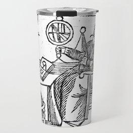 An Astrologer at his desk Travel Mug