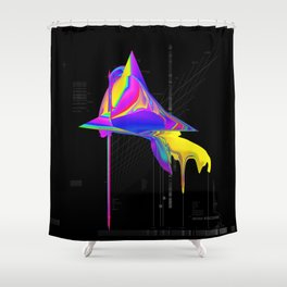 anomaly in sector KRC2496 Shower Curtain