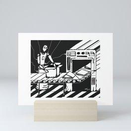 ATM/Cajero Automático Mini Art Print