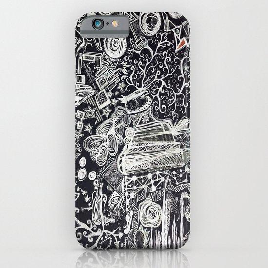 White/Black #2  iPhone & iPod Case
