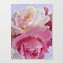 Poster Pink Canvas Print