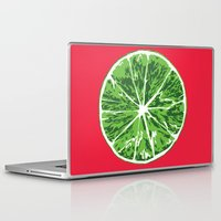 lime Laptop & iPad Skins featuring Lime by Kcin