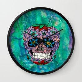 Bright Skull Wall Clock