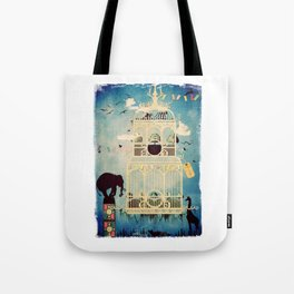 The Cage III - Call of the Wild Tote Bag