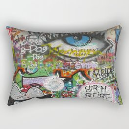 If They Don't Let Us Dream Rectangular Pillow