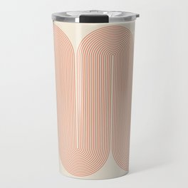 Abstraction_SUN_LINE_ART_Minimalism_002 Travel Mug