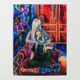 """Teardrop"" Painting Poster"