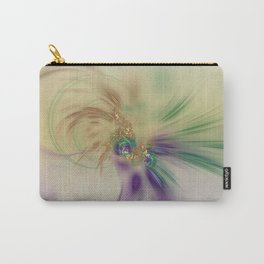 Fall Festive Fractal Carry-All Pouch