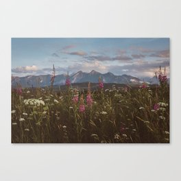 Mountain vibes - Landscape and Nature Photography Canvas Print