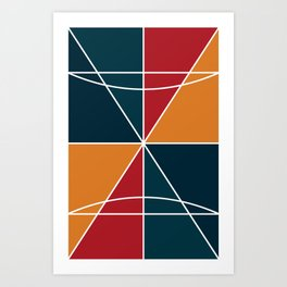 Colors Print Art Print