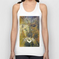 courage Tank Tops featuring Courage by Anna Hanse