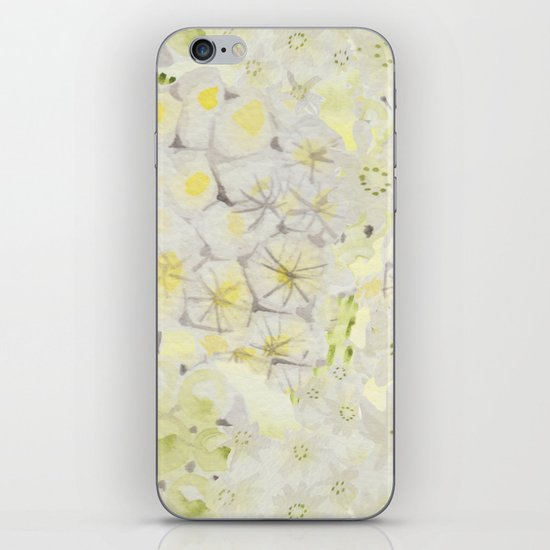 Lemon Abstract iPhone & iPod Skin