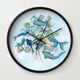 Atlantis Underwater World Wall Clock
