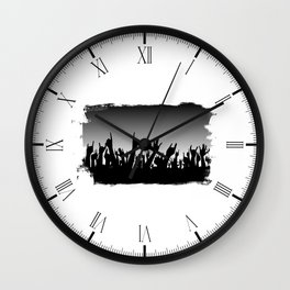 Audience Reaction Wall Clock