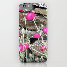 Flowers on the wall iPhone 6s Slim Case