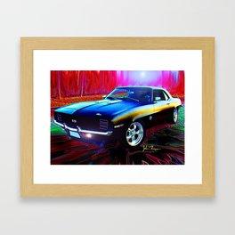 69 Camaro SS 396 Framed Art Print