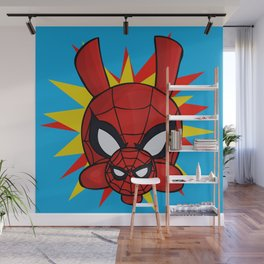 Spider-Ham Face Wall Mural