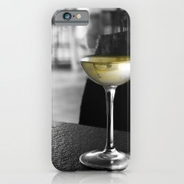 The Lone Companionship of Pinot Noir iPhone Case