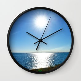 Solitaire Sky Wall Clock
