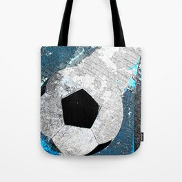Soccer art vs 1 cx Tote Bag