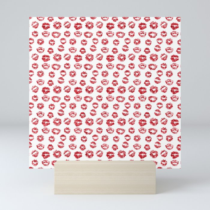 Kiss Me Mini Art Print