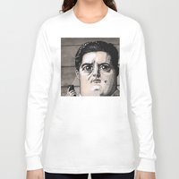 dale cooper Long Sleeve T-shirts featuring Dale Cooper by Drawn by Nina