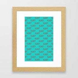 illest Framed Art Print