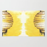 lantern Area & Throw Rugs featuring Lantern by Emma Stein